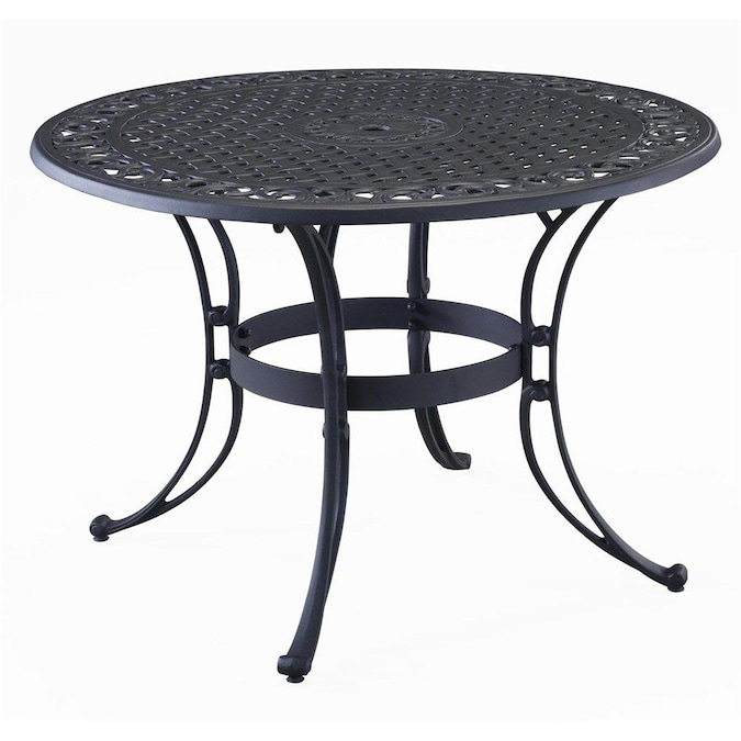 Round Dining Table In The Patio Tables, 42 Patio Table