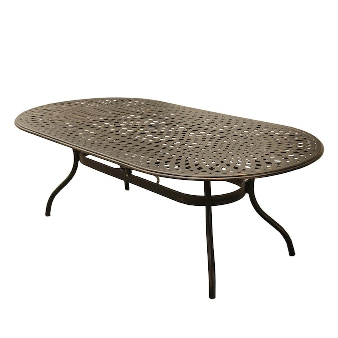 Oakland Living Outdoor Dining Tables, Oval Outdoor Dining Table