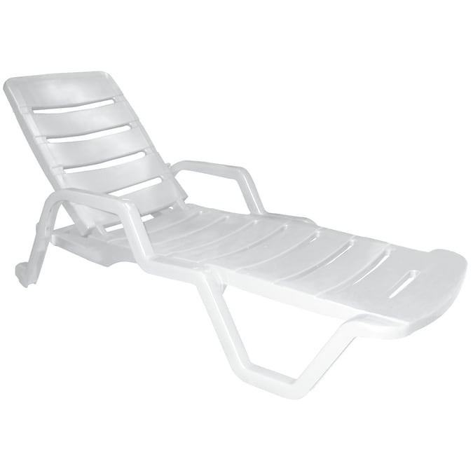 Stationary Chaise Lounge Chair, Chaise Lounge Chairs Outdoor Plastic