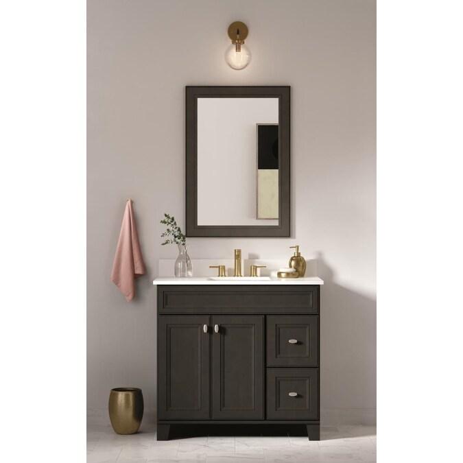 Undermount Single Sink Bathroom Vanity, Bathroom Vanity Cabinet