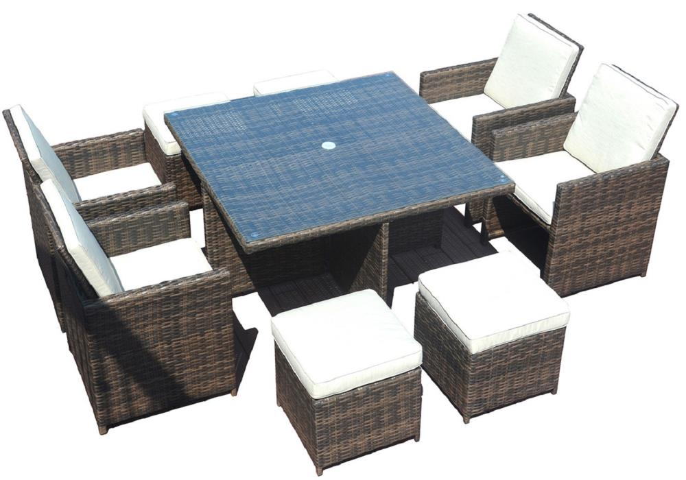 Included In The Patio Dining Sets, Outdoor 9 Piece Dining Set