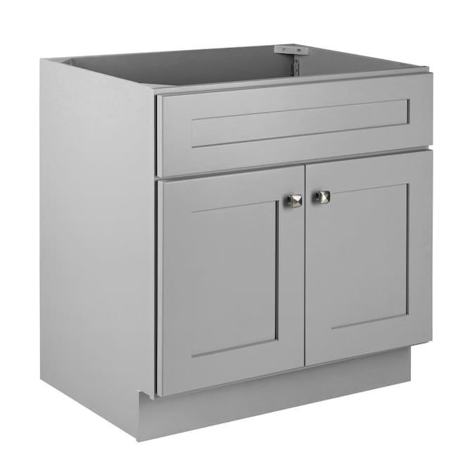 Gray Bathroom Vanity Cabinet, Bathroom Vanity Cabinet