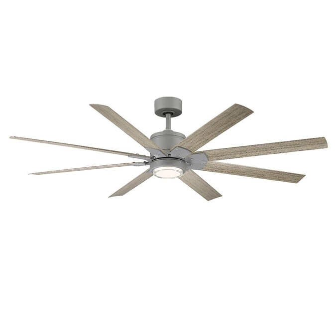 Modern Forms Renegade 66 In Graphite Led Indoor Outdoor Smart Ceiling Fan With Remote 8 Blade In The Ceiling Fans Department At Lowes Com