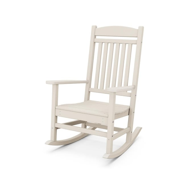 Trex Outdoor Furniture Seaport Sand, Outdoor Furniture Rocking Chair