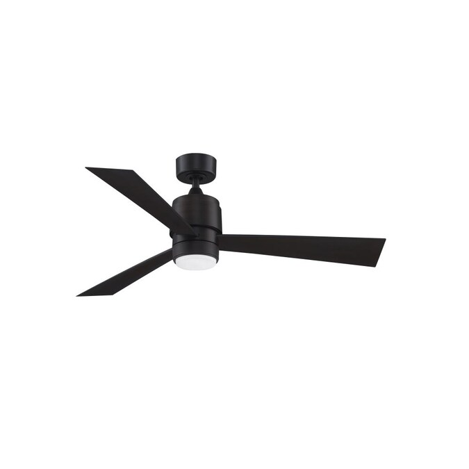 Fanimation Zonix Wet 52 In Dark Bronze Led Indoor Outdoor Ceiling Fan 3 Blade In The Ceiling Fans Department At Lowes Com