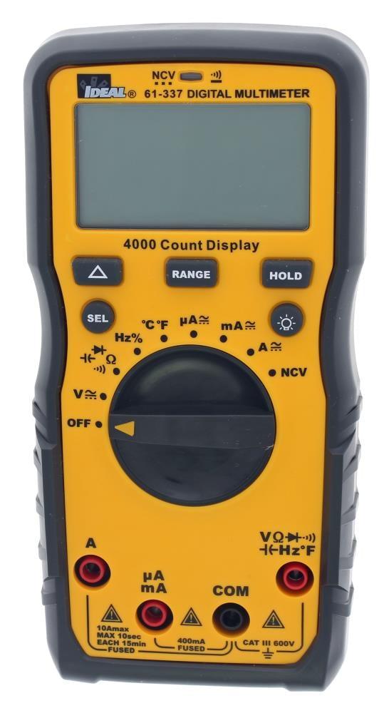 Digital Multimeter Meter Amp Ohm Voltmeter Auto//Manual Tester Range Volt E1B4