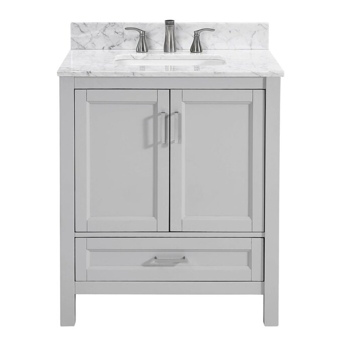 Unbranded Sl Durham Lt Gy 30 In Vty Mbl Top In The Bathroom Vanities With Tops Department At Lowes Com
