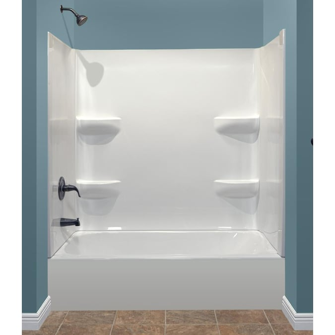 Style Selections Kit 54x27 Bathtub Left, Bathroom Showers And Tubs