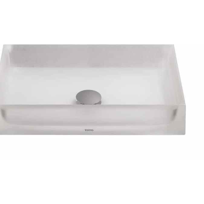 Luminist Rectangular Vessel, Rectangular Vessel Bathroom Sink
