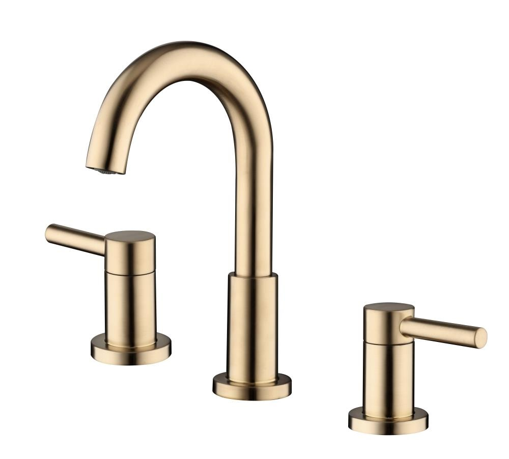 Jacuzzi Duncan Brushed Bronze 2 Handle, Bronze Faucet Bathroom