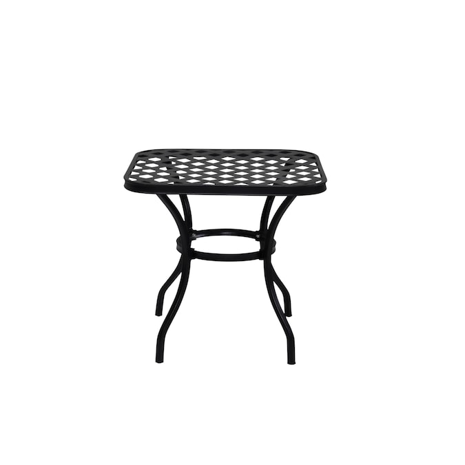 Style Selections San Terra Square, Metal Patio End Tables