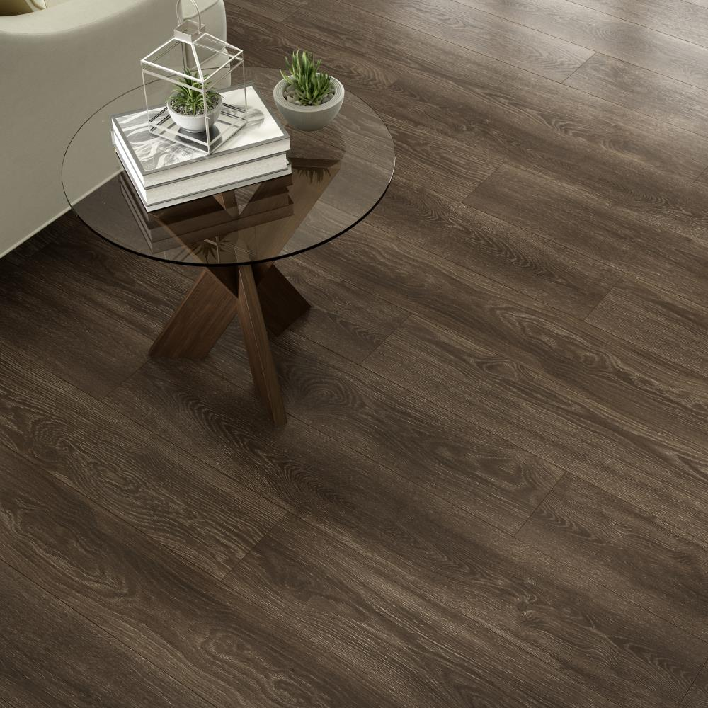 Woodfin Oak 7 Mm Thick Wood Plank, Project Source Laminate Flooring Woodfin Oak