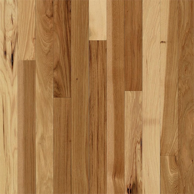 Bruce Frisco 3 1 4 In Wide X 3 4 In Thick Hickory Country Natural Smooth Traditional Solid Hardwood Flooring 22 Sq Ft In The Hardwood Flooring Department At Lowes Com
