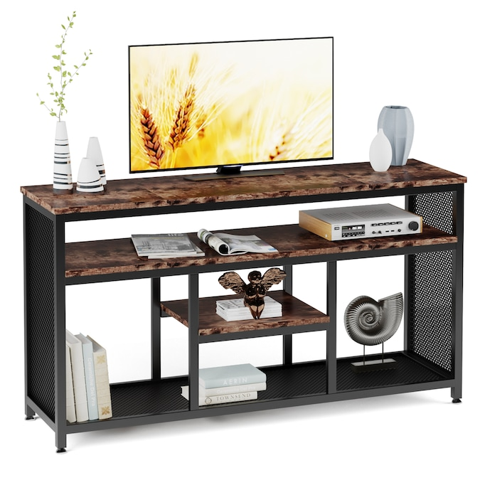 Tribesigns 59 Inch Rustic, Tv Stand Sofa Table