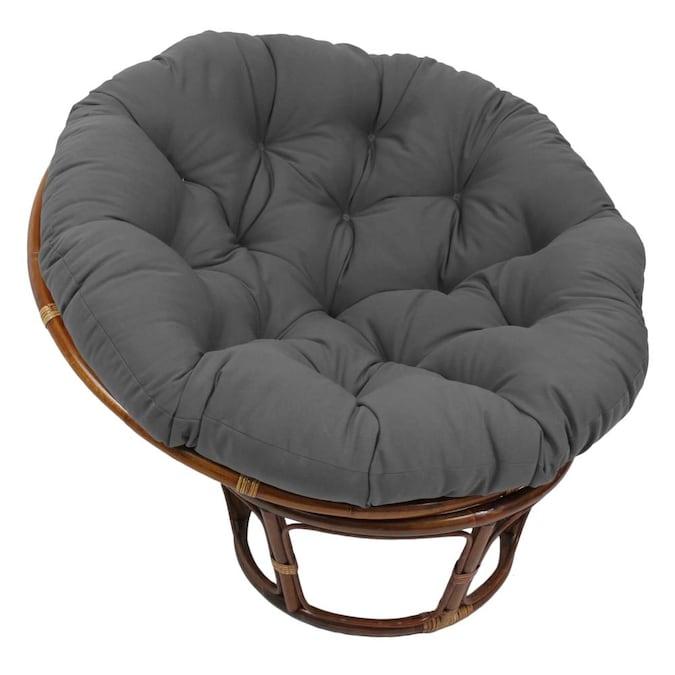 Steel Grey In The Indoor Chair Cushions, Mamasan Chair Cushion