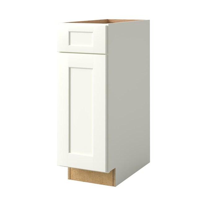 Allen Roth Aveley 12 In W X 34 5 H, 12 Inch Depth Base Kitchen Cabinets