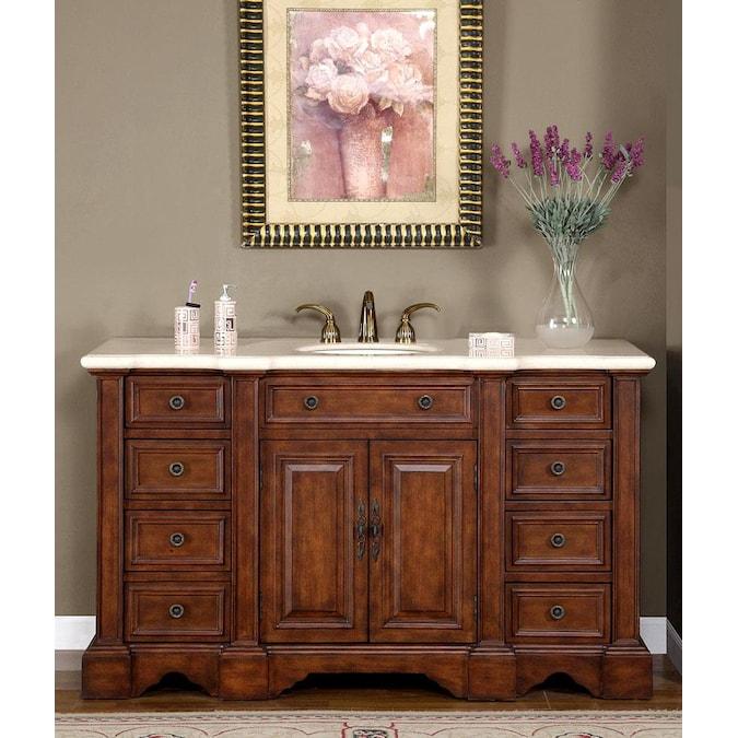Bathroom Vanities, 59 Bathroom Vanity Single Sink