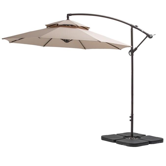 Tilt Cantilever Patio Umbrella, Large Tilting Patio Umbrella