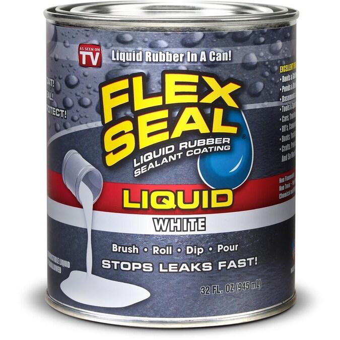 Flex Seal Liquid 32 Fl Oz White Dip