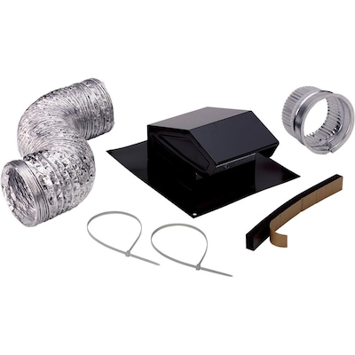 Metal Roof Vent Kit In The Bathroom Fan, Bathroom Exhaust Vent Cap