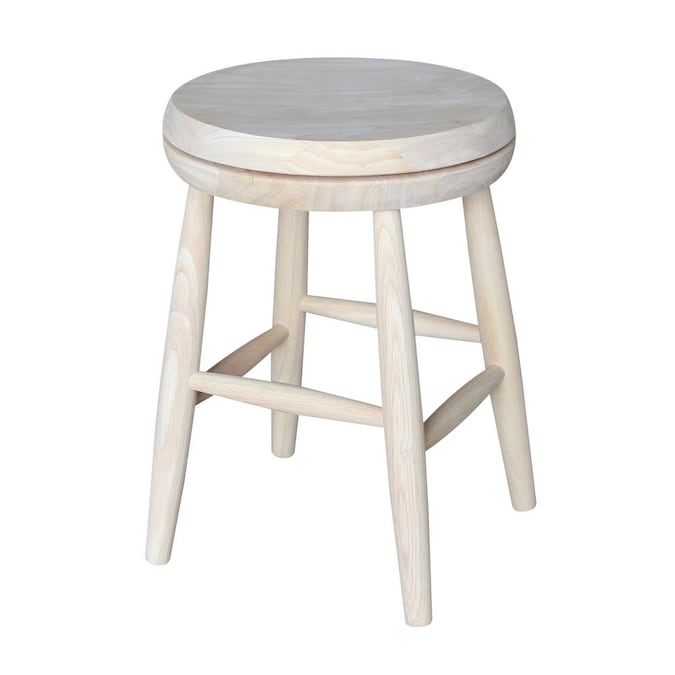 Swivel Bar Stool In The Stools, Unfinished Furniture Stools