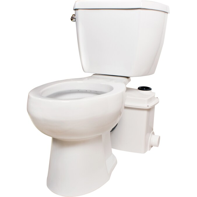 Toilet plumbing hookup