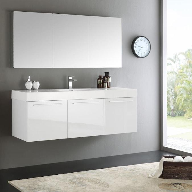 Single Sink Bathroom Vanity, 59 Bathroom Vanity Single Sink