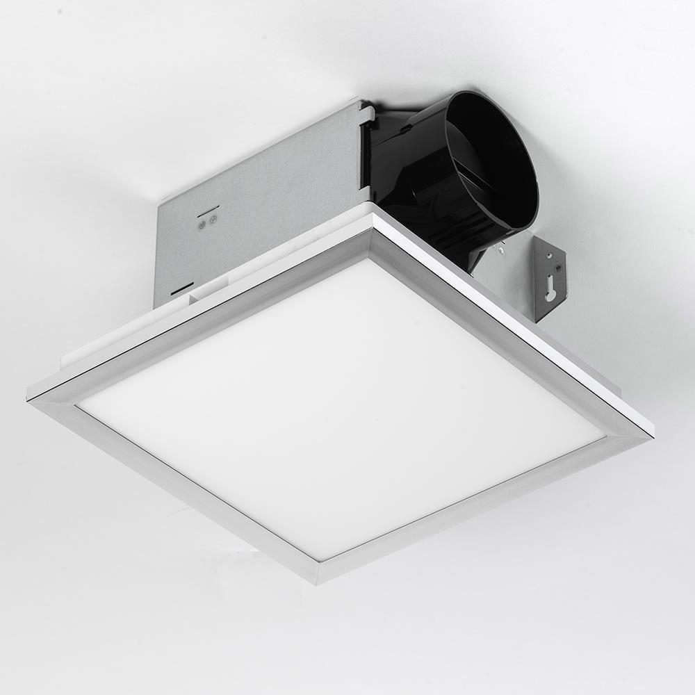 Utilitech Ventilation Fan 1 5 Sone 100, Chrome Bathroom Fan Light