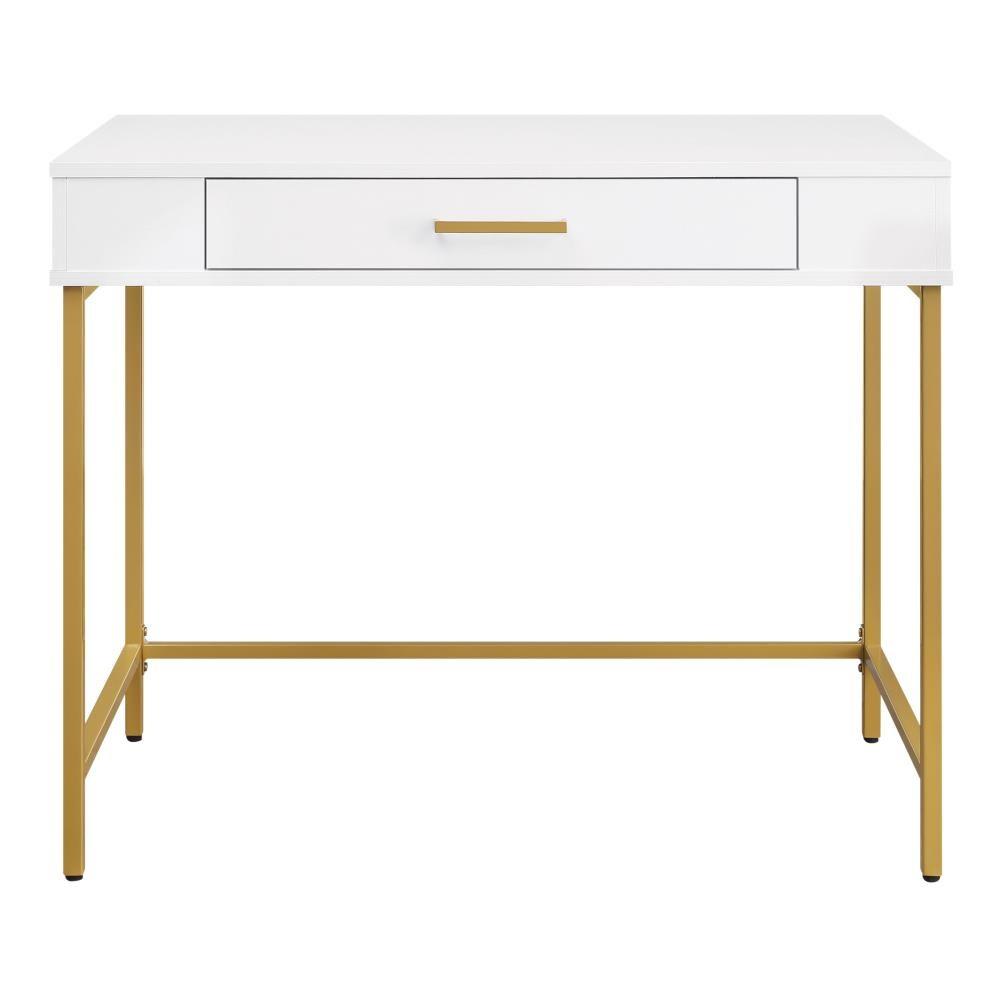 Osp Home Furnishings Modern Life 36 In, American Trails Art Deco Writing Desk