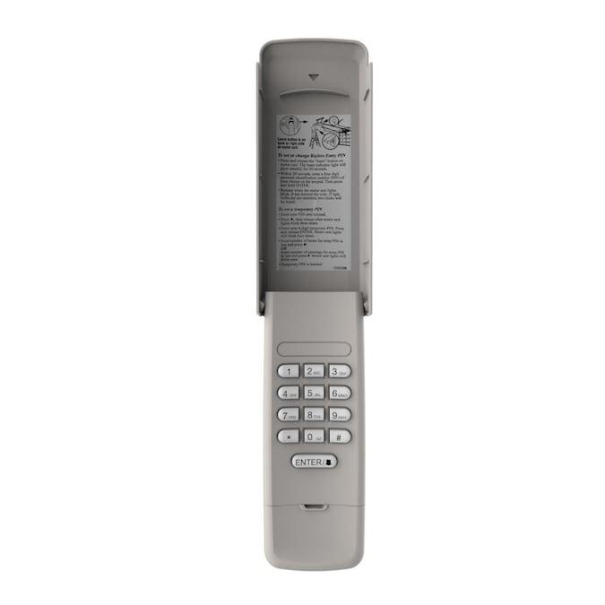 Craftsman Cmxzdcg440 Garage Door Wireless Keypad Gray, Temporary Garage Door Code