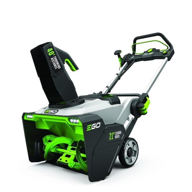 """EGO POWER+ Dual Port 21"""" Cordless Snow Blower Kit with Steel Auger"""