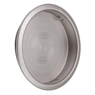 "Door Pull Pocket Sliding Fits 2/"" Hole Stamped Steel Closet Classic Bronze N-7208"
