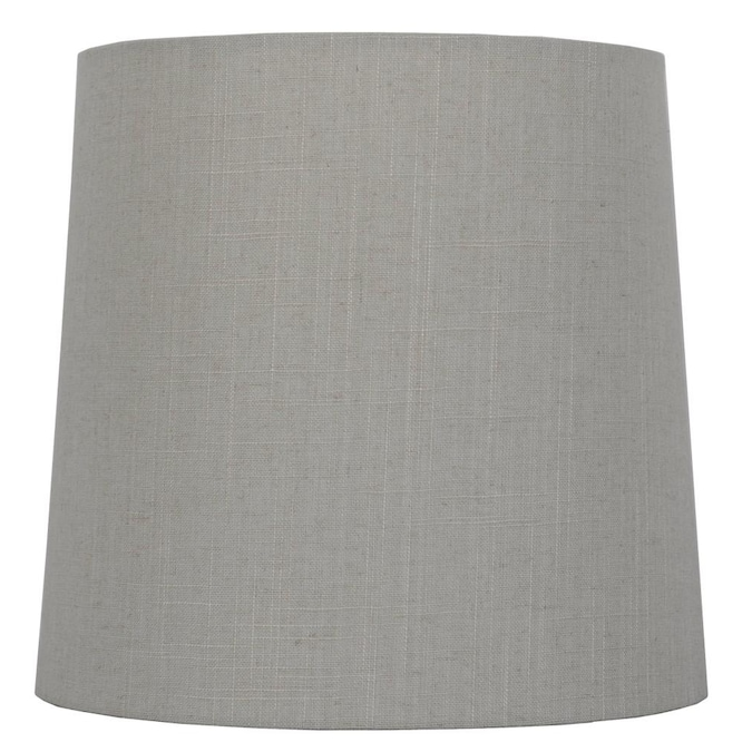 Tan Fabric Drum Lamp Shade, Fabric Drum Lamp Shades
