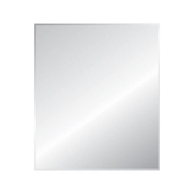 Style Selections L X W Beveled Wall Mirror In The Mirrors Department At Lowes Com