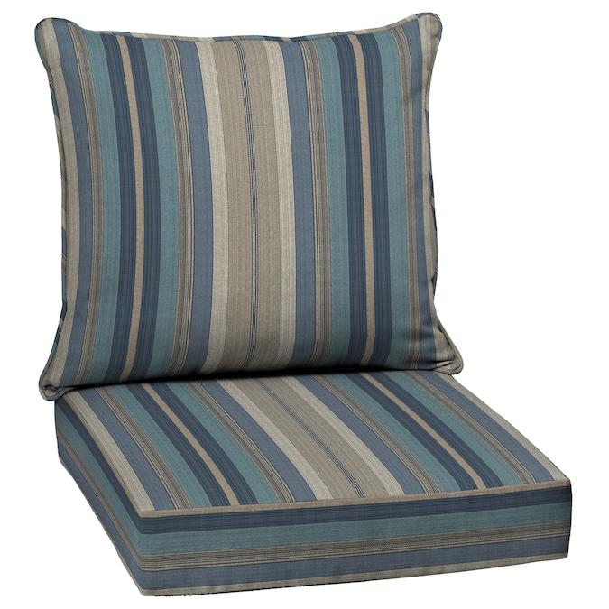 Piece Deep Seat Patio Chair Cushion, Deep Seating Patio Cushions Clearance