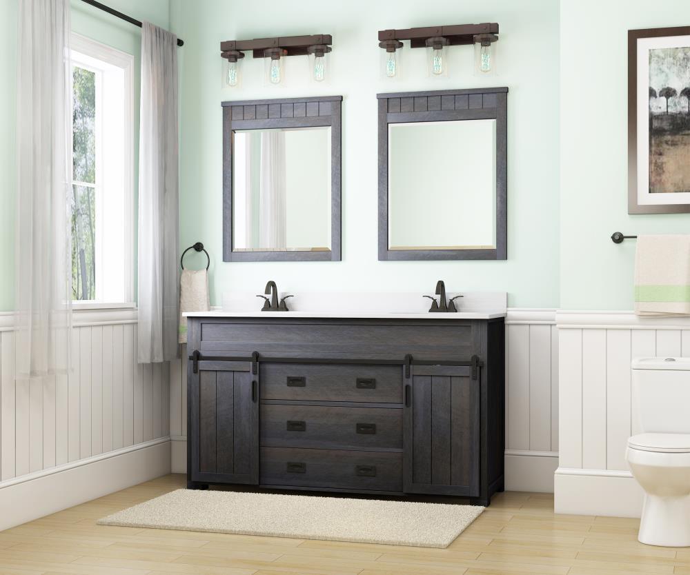 Double Bathroom Vanities & Vanity Tops at Lowes.com