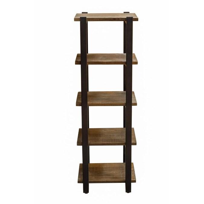 Tier Wood Freestanding Bathroom Shelf, Wooden Bathroom Shelf