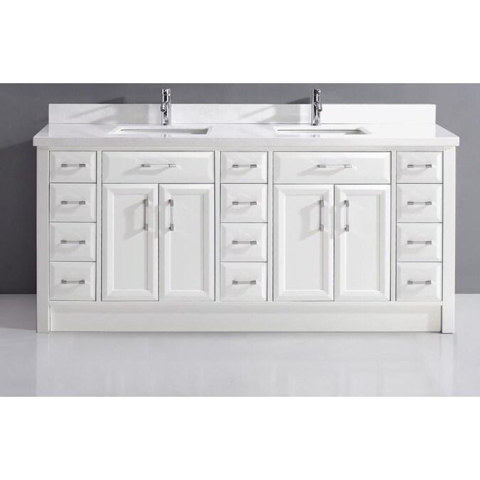 Double Sink Bathroom Vanity, Double Sink Bathroom Vanity Without Top