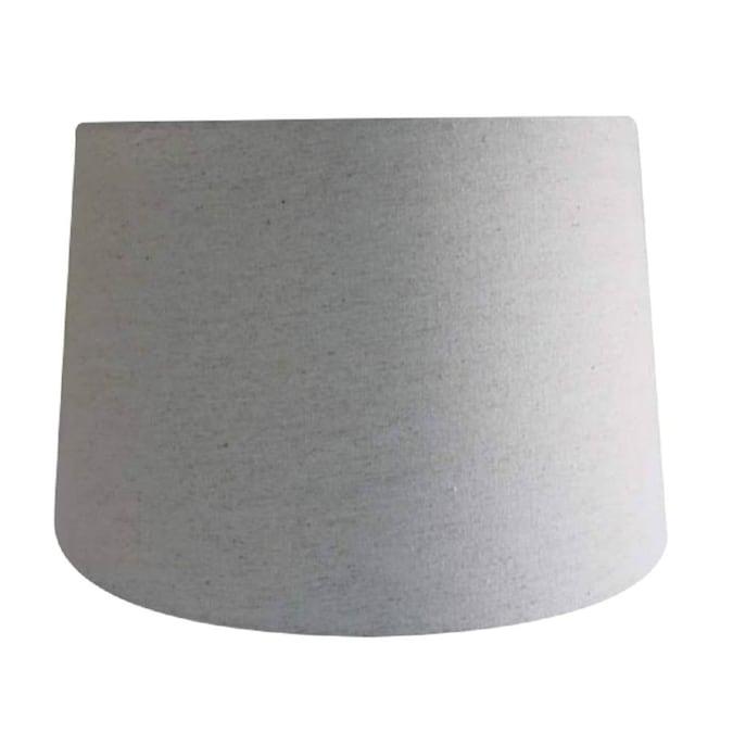 Natural Fabric Drum Lamp Shade, Fabric Drum Lamp Shades