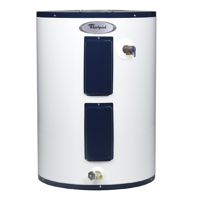 Whirlpool 28 Gallon 6 Year Lowboy Electric Water Heater In The Electric Water Heaters Department At Lowes Com